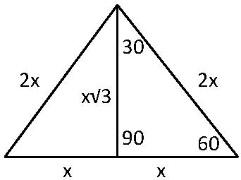 Split Equilateral Triangle
